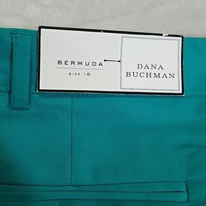 Dana Buchman Shorts - NWT Plus Size Bermuda Shorts by Dana Buchman